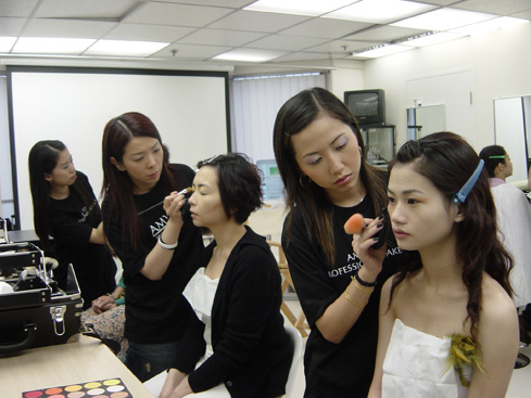 新娘化妝證書班 Bridal makeup Certificate Course