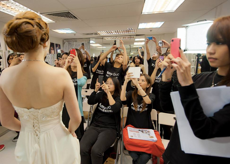 新娘化妝課程 bridal makeup course